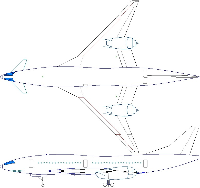 airliners net forum  sonic cruiser needs some changes